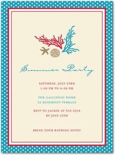 coral invitation