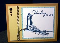 Card created using CTMH Seaside Greetings D1609.