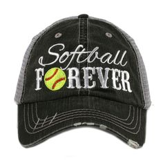 SOFTBALL Forever Mesh Embroidered MESH Hat