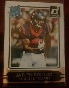 2015 Donruss Football Jaelen Strong #219 Rated Rookie Houston Texans in Sports Mem, Cards & Fan Shop, Cards, Football | eBay