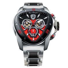 Tonino Lamborghini Watches Spyder Chronograph 1100 1115 from Tonino Lamborghini Mobile Official Store - $2,306.00 USD