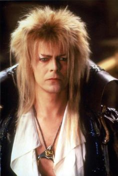 David Bowie as Jareth The Goblin King in Labyrinth 1986
