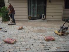 Cheap Stone Patio Ideas   bobsgrading.blogspot.com