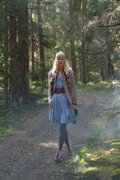 Perfect for a walk round faerie rings, onward to the secret lake.