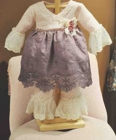 Vintage Plum 2 Piece Infant Set Newborn to 24 Months Now in Stock