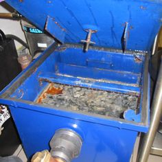 They may look prettier in blue but passive grease traps still have rancid odours with sub-standard grease recovery Septic System, Odor Remover, Odor Eliminator, Grease, How To Look Pretty, Recovery, Cleaning, Kitchen, Blue