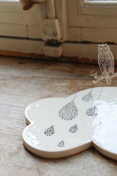 Ceramic cloud | madame la chouette