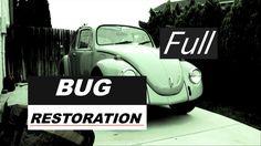 VW Bug Restoration, from beginning to end! Volkswagen, Vw Dune Buggy, Old Bug, Baja Bug, Car Restoration, All Cars, Beetle, Vw Bugs, Buses