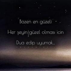 Dua ile seninleyim .. ↪yunus↩