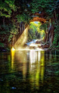 Nomizo Waterfall, Japan