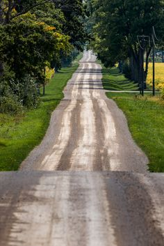 Back roads (Adelaide Metcalfe, Ontario) by Michael Rochford / 500px