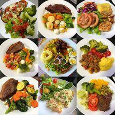 Healthy Diet Recipes, Healthy Meal Prep, Real Food Recipes, Healthy Snacks, Healthy Eating, Cooking Recipes, Work Meals, Gewichtsverlust Motivation, Food Platters