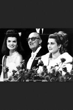 Jacqueline Kennedy and Princess Grace of Monaco