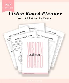"$17.99 · ""Create the highest, grandest vision possible for your life, because you become what you believe"" - Oprah Vision boards are a great tool to help you create motivation and change your life…"