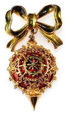 ART ornament pin - 1960's