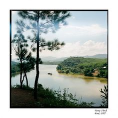 Le Fleuve des Parfums, Hue, Vietnam, vu d'une colline Hue Vietnam, Back In Time, Water Lilies, Country Roads, River, Landscape, World, Outdoor, Asia