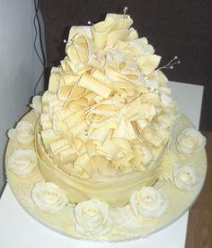 White Chocolate Wedding Cakes