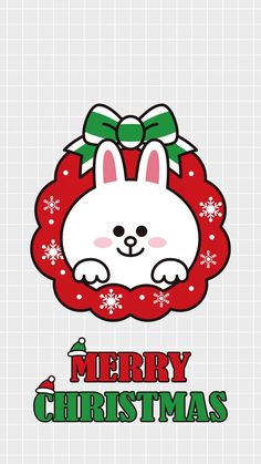 Cony Brown, Brown Bear, Bunny And Bear, Lines Wallpaper, Brown Line, Holiday Wallpaper, Kawaii, Line Friends, Christmas Illustration