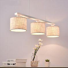 XXHX Pendelleuchten den minimalistischen modernen skandinavischen American Village Restaurant Lampe das Esszimmer, Schlafzimmer Studie Lampen (3 Leiter), die Kommission Farbe Tambour, Lustre Retro, Lumiere Led, Thing 1, Ceiling Lights, Lampe Globe, Lighting, Pendant, Saint