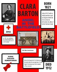 Make a Poster About Clara Barton | Red Cross Poster Ideas