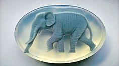Glyceryne Soap Happy Elephant hand made by AlSaponeHandmadeSoap