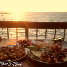 Cheeseplate on the Bay in LBI! All appetizers were put together with Trader Joe's ingredients, yum!