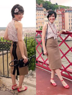 50's remastered pencil skirt