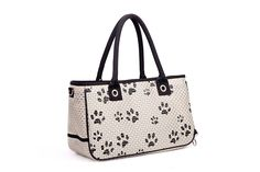 Pet Carrier Bag - White and Black Travel Pet Carrier For Small Animals, Dogs and Cats ** Continue to the product at the image link. (This is an affiliate link and I receive a commission for the sales)