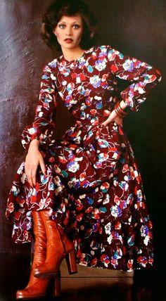Burda International Fall/Winter 1974. This looks so cute!