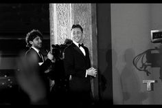 Tom Hiddleston mixing it with the Vikings in a tux