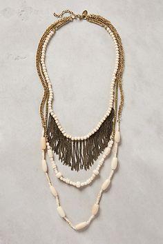 Layered Milonga Necklace #anthropologie