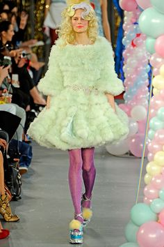 Just came across these pics of Meadham Kirchhoff's... - let motel6 deal with it