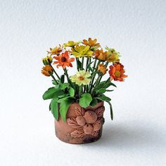 Hey, I found this really awesome Etsy listing at https://www.etsy.com/listing/161537315/miniature-english-marigolds-in-an