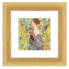 Check out this item at One Kings Lane! Gustav Klimt, Lady with Fan