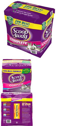 Litter 116363: Scoop Away Complete Performance Cat Kitty Low Dust Litter 42 Lb. Bag -> BUY IT NOW ONLY: $32.98 on eBay!