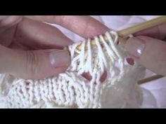 This video shows you how to work the unusual cluster stitch pattern in the Cornflower Hat from Laylock.    PDF PATTERN: http://www.laylock.org/blog/2011/09/cornflower-garden-hat/  .  http://laylock.org