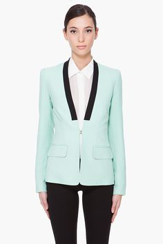 Mint Green Zoe Blazer, A.L.C....(Love the blazer)