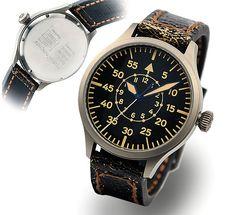 Nav.B-Uhr 47 vintage TITANIUM B-Type.. - Pilot Watch - Steinhart Watches