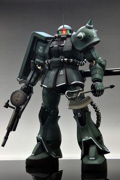 Amazing work - Mega Size Model 1/48 MS-06J Zaku II - #gundam #mecha