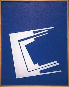 """Ib Geertsen (1919-2009) """"Forløb"""", 1985."""