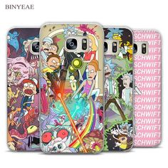 Rick and Morty Transparent Phone Case Cover for Samsung Galaxy S3 S4 S5 S6 S7 Edge Plus Mini //Price: $8.60 & Always FREE Shipping World Wide//     Pickup One For You and One For Them    Rick and Morty Transparent Phone Case Cover for Samsung Galaxy S3 S4 S5 S6 S7 Edge Plus Mini Rick and Morty, just about the greatest cartoon on television. Show your inner fanatic by sporting these themed cellphone cases that sport this hilarious and thought provoking show about the adventures of a mad…