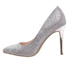 New Look Ring Zapatos Altos Silver zapatos Silver altos look Zapatos New Ring Noe.Moda