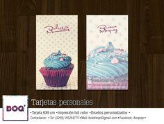 #design #businesscard #card #graphic #diseño #grafico #cupcake #cake #sweet #dulce #boq #neuquen #patagonia #argentina