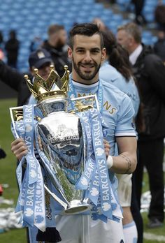 Alvaro Negredo: Manchester City 2013/2014 British Premier League Champions
