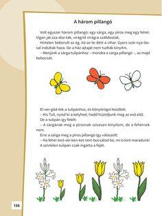 ▶ A három pillangó - NKP 1st Grade Crafts, Baby Development, Grade 1, Montessori, Verses, Poems, Lily, How To Plan, Retro