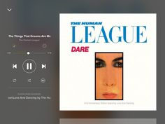 The Human League - Dare The League Unlimited Orchestra - Love and Dancing