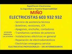 Electricistas MIÑO 603 932 932 Baratos