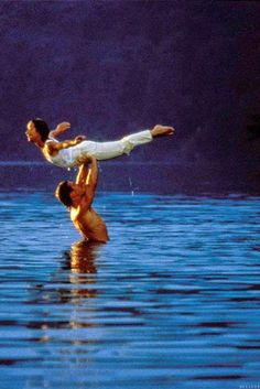 """Bindi Irwin, Derek Hough Nail the Dirty Dancing Lift on DWTS -- Watch! - - Bindi Irwin and Derek Hough earned perfect scores after nailing the """"Dirty Dancing lift"""" famously featured in the 1987 movie, on DWTS -- watch it here. 80s Movies, Iconic Movies, Great Movies, I Movie, Classic Movies, Movie Scene, Cult Movies, Movie Photo, Love Movie"""