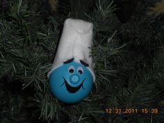 2011 Christmas Ornament-Smurf