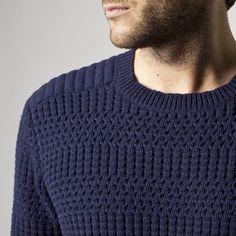 Pull homme IKKS (ME18083) | Vêtement Homme Hiver 14 80% Laine - 20% Polyamide